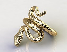 Ring snake 10362 3D printable model jewelry