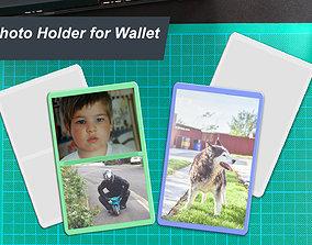 Slim Photo Holder for Wallet 3D print model