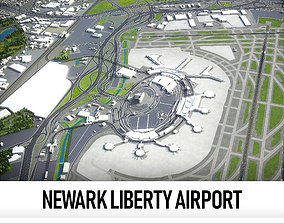 Newark Liberty International Airport - 3D model