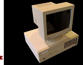 Vintage PC 2 in 1 Bundle 3D