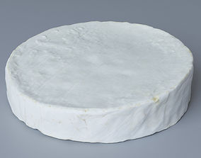 Brie Cheese 3D model