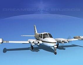3D Cessna 310 V03