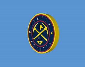 3D model Denver Nuggets Team Logo