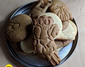 Marvel cookie cutters set 3D printable model