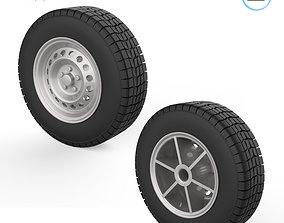 automotive 3D printable model Vehicle wheels 1-32