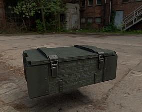 Ammunition box 3D asset
