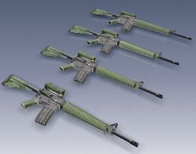 C7A2 Rifle 3D model