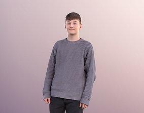 3D asset Bobby 11094 - Casual Teenage Boy Walking