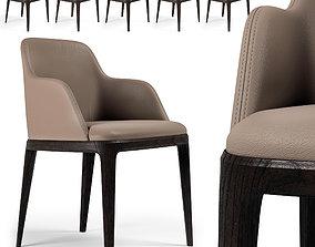 Chair Poliform Grace 2 3D