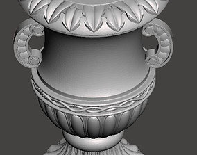 WoodCarving detail - 3d model for CNC 1