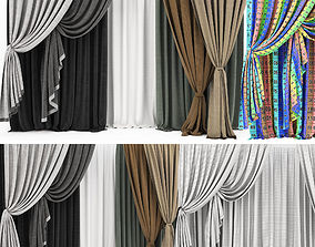Curtain collection 11 3D model
