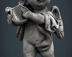 3D model game-ready figure Angel