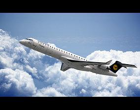 Bombardier CRJ 900 Lufthansa 3D model