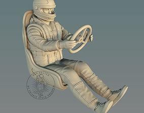 3D printable model RC Racing Boat Pilot