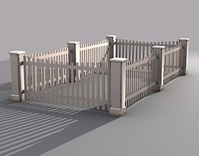 Fence 6 3D asset