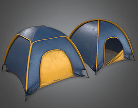 Tent 01 - PBR Game Ready 3D asset