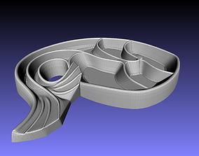 Fish tray 3D print model