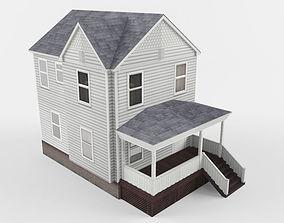 3D asset Cottage House v8