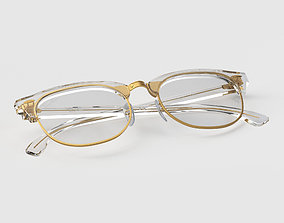 3D Ray-Ban eyeglasses RB5154 Single Transparent Close