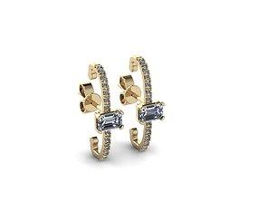 shining Jewelry Earrings 3D printable model
