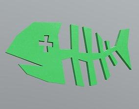 3D asset Fishbone