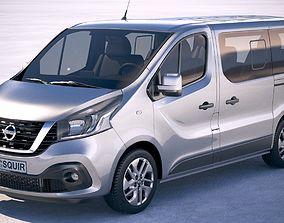 3D model Nissan NV300 Passenger 2018