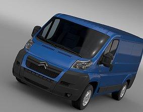 3D model Citroen Relay Van L1H1 2006-2014