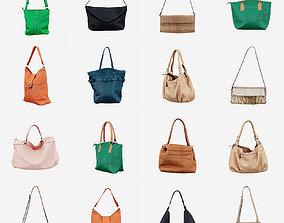 3D model 12 Handbags
