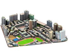 real city 3D model