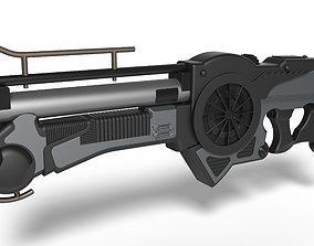 3D print model Mangalore Rifle from the movie The fifth 2