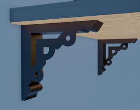 3D print model shelf bracket 10