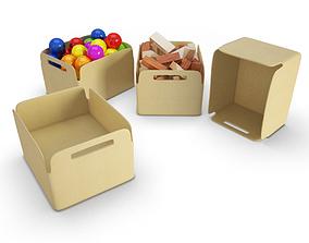 Baskets for Kids 3D model