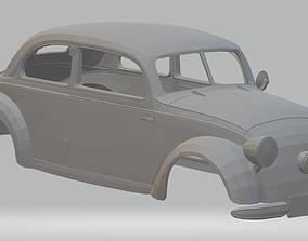 Mercedes Benz 170 H Printable Body Car