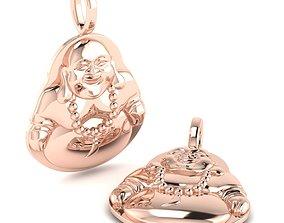 Buddha Pendant Jewelry 3D print model
