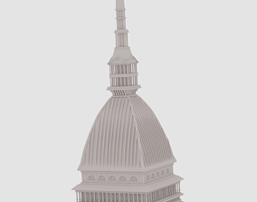 italia Mole Antonelliana 3D model