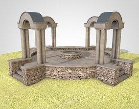 Pavilion 3D asset