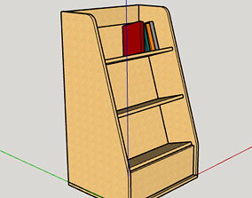 Book Holder For cnc With fitting holes 3D printable model