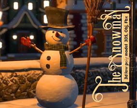 The Snowman 3D model