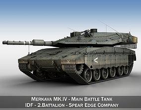 Merkava IV - Spear Edge Company 3D
