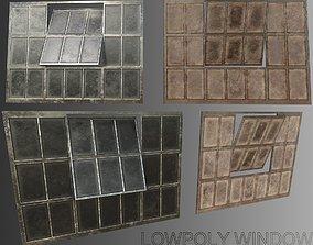 Window 3D asset game-ready