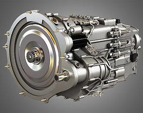 Transmission - Veyron - W16 Engine 3D