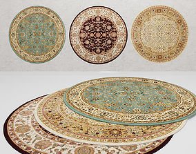 Nourison Round Rugs 3D