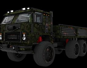 3D model Military Vehicule KamAZ-53501