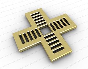 catholic models Cross 3D