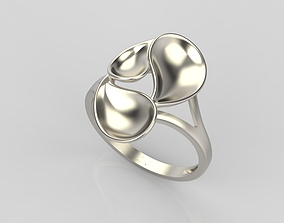 3D printable model Ring with leaves