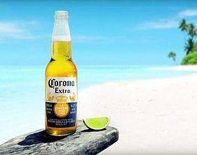 Corona Beer Bottle 3D model By iammdshanto