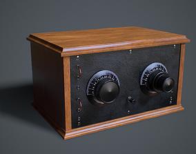 3D model Vintage Radio - ASA 3
