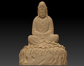 3D print model Kwanyin bodhisattva asian