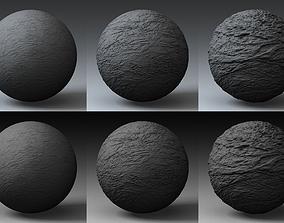 Displacement Landscape Shader 069 3D model