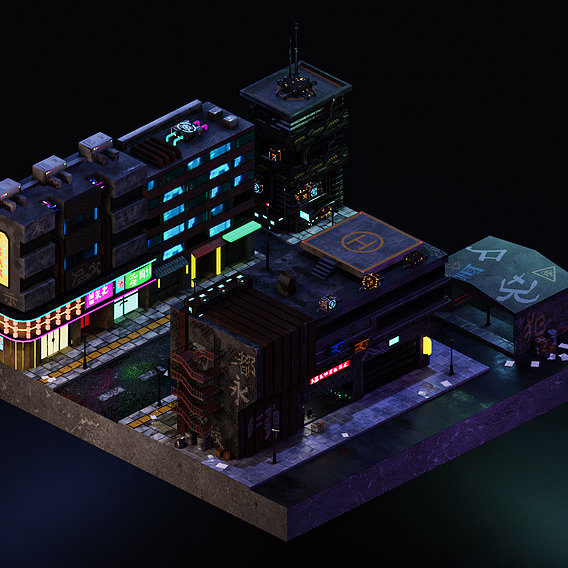 Cyberpunk Street 3